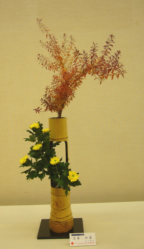 岩垂 和春 紅葉雪柳、菊