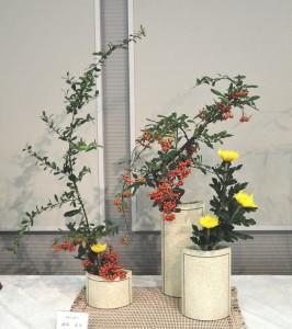 渡部 蘆舟 (ピラカンサ、菊)